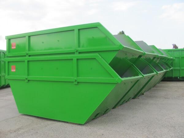 вместительные кантейнеры для вывоза мусора в Москве
