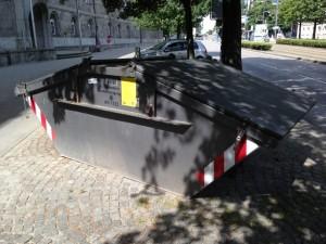 Контейнер для вывоза ТБО в Москве