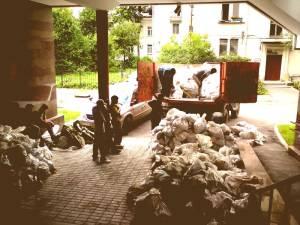 грузчики для вывоза мусора