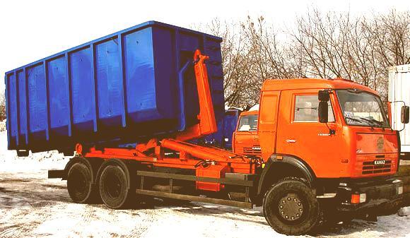 мультилифт для вывоза мусора в Москве 20 м3