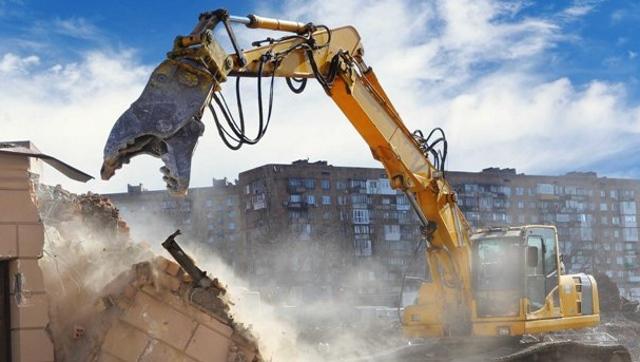 Демонтаж зданий и вывоз мусора