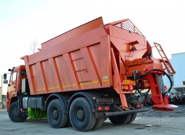 Вывоз бытового мусора контейнером