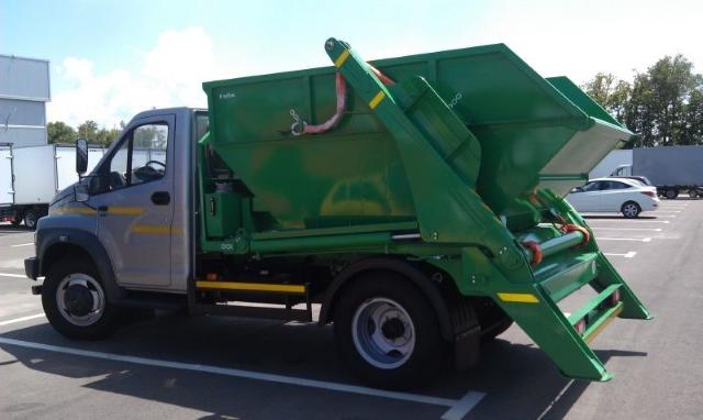 Вывоз мусора контейнером с грузчиками