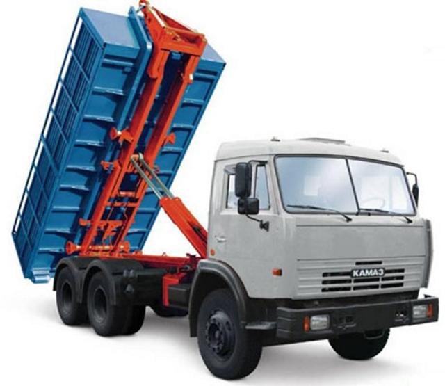 Вывоз мусора контейнером в СЗАО