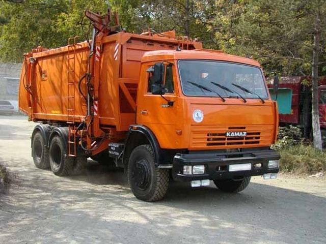 Вывоз мусора на Киевском шоссе