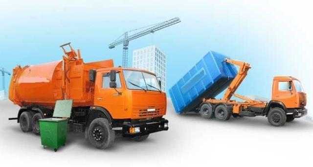 Вывоз мусора с производства