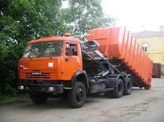Вывоз мусора на Первомайской
