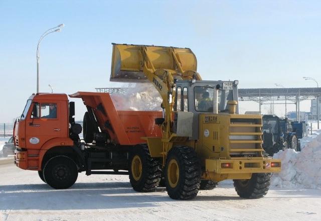 Вывоз снега, цена за 1 м3
