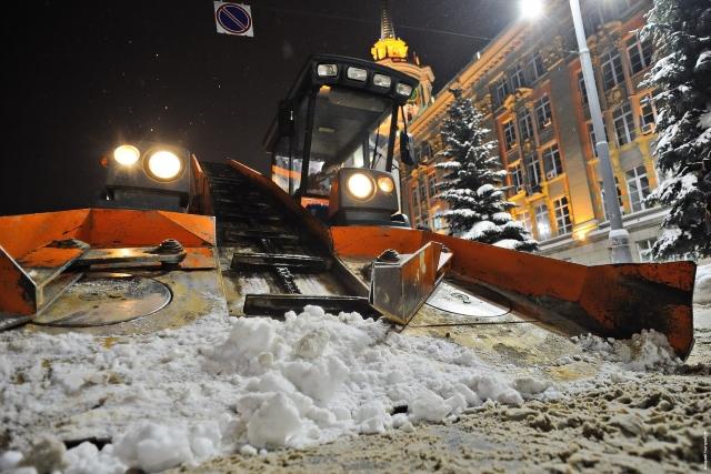 Вывоз снега из дворов