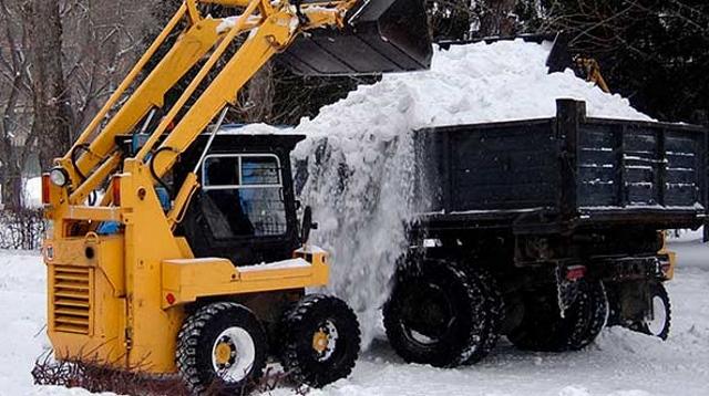 Вывоз снега в ЦАО