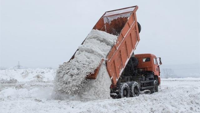 Вывоз снега в ЮВАО