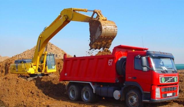 Вывоз разработанного грунта