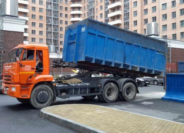 Вывоз мусора 8 м3 на Профсоюзной