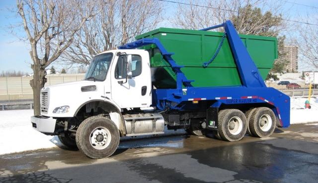 Вывоз мусора контейнером 8 м3 в СВАО